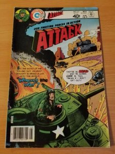 Attack #22 ~ FINE - VERY FINE VF ~ (1980, Charlton Comics)