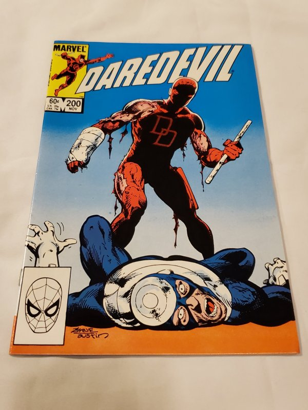Daredevil 200 NM Cover pencils by John Byrne, inks by Terry Austin