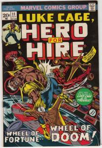 Luke Cage Hero for Hire #11 (Jul-73) NM- High-Grade Luke Cage