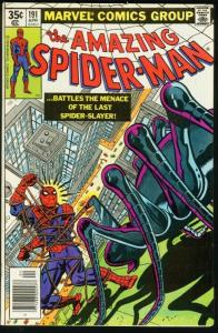 AMAZING SPIDER-MAN #191-1979-COOL-MARVEL-SPIDEY!-fine FN