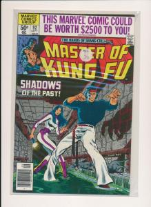 MARVEL  Master of Kung Fu SHADOWS OF THE PAST #92 FINE/VERY FINE (HX701)
