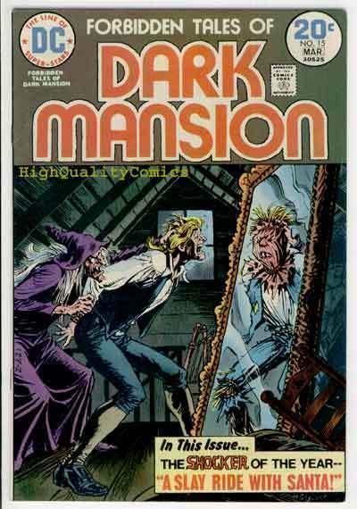 FORBIDDEN TALES of DARK MANSION #15, VF, Howard Chaykin, 1972, Bronze horror