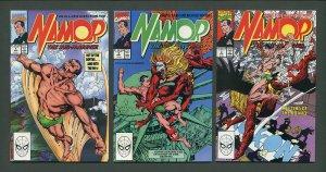 Namor, Sub-Mariner #1  #2  #3 (SET)  /  NM /  June 1990