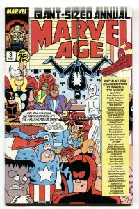Marvel Age Annual #3 1987 First appearance Mister Jip-Cloak and Dagger