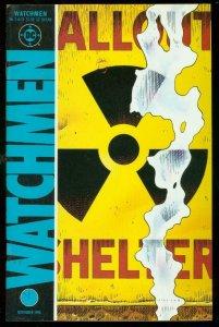 WATCHMEN #3 1986-DAVID GIBBONS-ALAN MOORE-DC COMICS VF