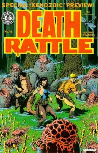 Death Rattle (Vol. 2) #8 FN; Kitchen Sink | save on shipping - details inside