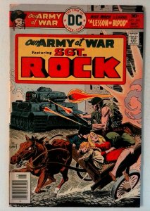 Our Army at War #292 DC 1976 FN Bronze Age Comic Book 1st Print
