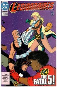 Legionnaires #6 (DC, 1993) VF/NM