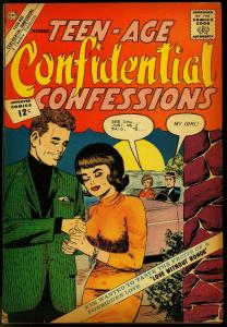 TEEN-AGE CONFIDENTIAL CONFESSIONS #15 1962-CHARLTON VG