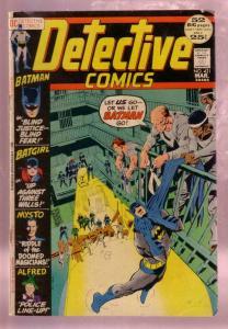 DETECTIVE COMICS #421 1972-BATMAN BATGIRL NEAL ADAMS-DC VG