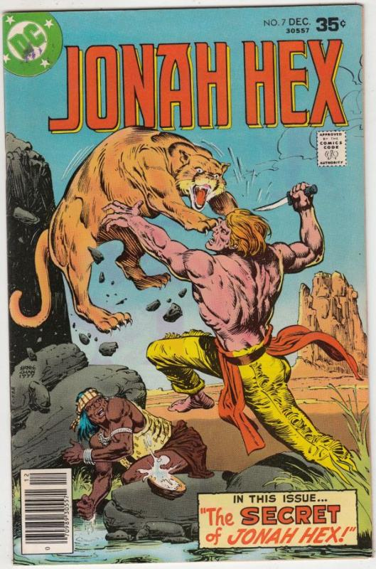 Jonah Hex #7 (Oct-77) VF/NM High-Grade Jonah Hex