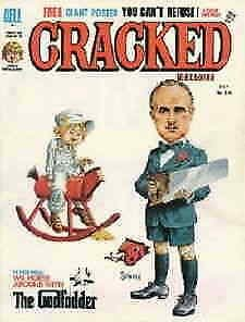 Cracked #124 VG; Globe | low grade comic - save on shipping - details inside