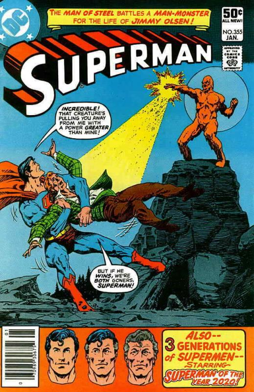 Superman (1st Series) #355 FN; DC | save on shipping - details inside