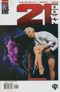 21 DOWN (2002 WILDSTORM) 1-12  JOE JUSKO  COMPLETE!