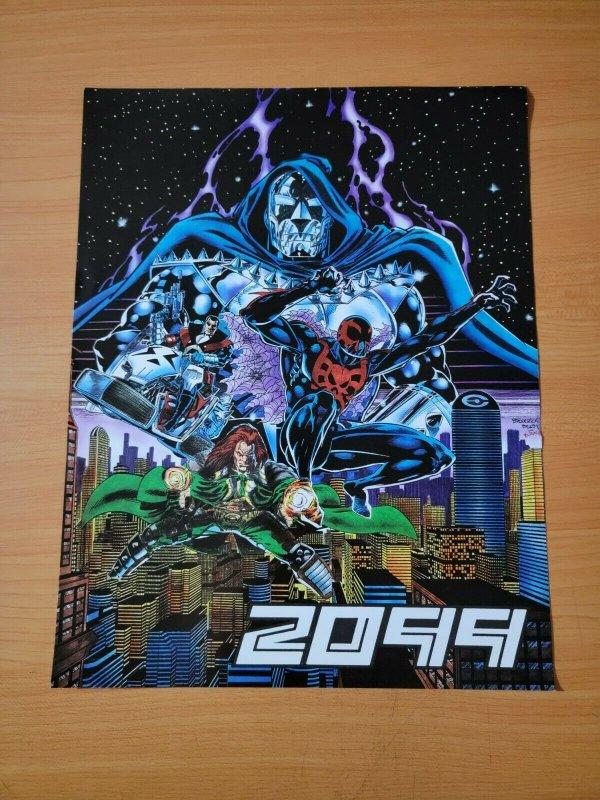 MARVEL 2099 PROMO FLYER POSTER 8.5 x 11 (1992) SPIDER-MAN 2099! DOOM