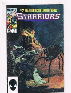 Starriors # 2 VF Marvel Comic Book Copper Age 1984 Space Series Issue TC1