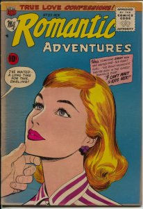 My Romantic Adventures #83 1957-ACG-Ogden Whitney-swimsuit panels-VG