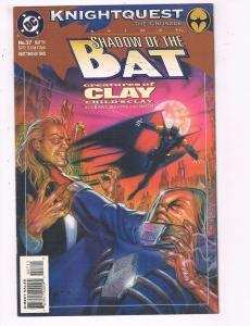 Batman Shadow Of The Bat #27 VF DC Comics Knightquest Comic Book Grant DE20
