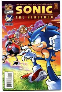 Sonic The Hedgehog #177 2007-archie comics-sega