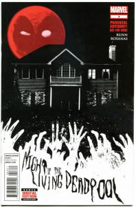 NIGHT of the LIVING DEADPOOL #3, NM, 1st, 2014, Dead, Zombies, more in store