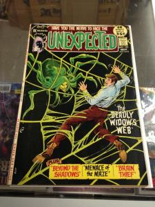 The Unexpected 129 FN- Nick Cardy Spider-Web  (Nov. 1971)