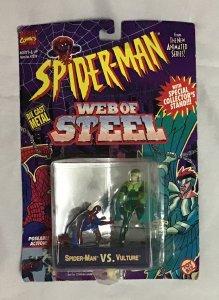 ToyBiz Superhero die cast metal model Spider-Man vs. Vulture