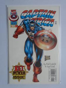 Captain America (1996 2nd Series) #1A - 6.0 - 1996