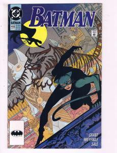 Batman # 460 NM 1st Print DC Comic Book Batgirl Catwoman Robin Joker Penguin J18