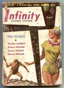 Infinity Science Fiction August 1950- Asimov- Ellison FR