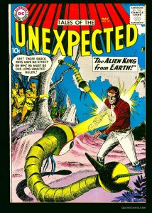 Tales Of The Unexpected #37 VF- 7.5 White Pages Bethlehem