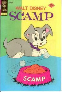 SCAMP (1967-1979 GK) 19 VF-NM    Sep. 1974 Disney COMICS BOOK