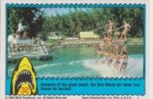 1983 Topps JAWS 3-D THE PERSUED #32