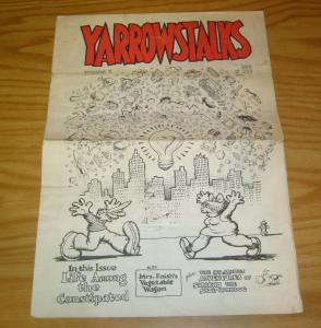 Yarrowstalks #3 underground comix newspaper - all robert crumb mr. natural 1967
