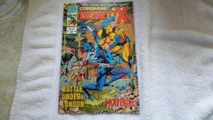 JAN. 1993 MARVEL COMICS UK CODENAME GENETIX # 1 OF 4