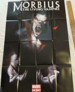 MORBIUS THE LIVING VAMPIRE Promo Poster, 24 x 36, 2012, MARVEL, Unused 135