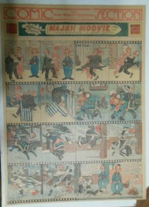 Percy The Robot Sunday Page by HC Greening from 1/10/1915 Full Page Size Rare !