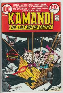 Kamandi the Last Boy on Earth #9 (Sep-73) VF/NM High-Grade Kamandi