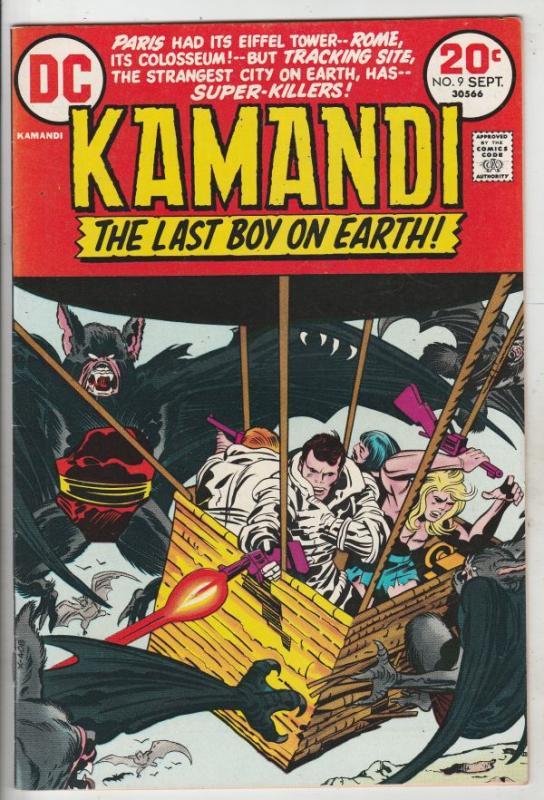 Kamandi the Last Boy on Earth #9 (Sep-73) VF/NM High-Grade Kamandi