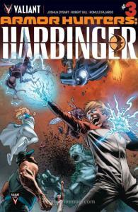 Armor Hunters: Harbinger #3 VF/NM; Valiant | save on shipping - details inside