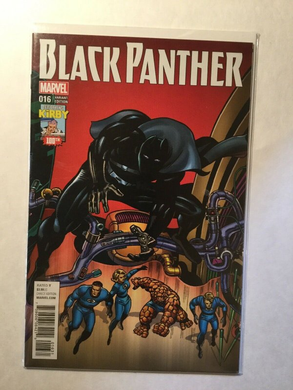 Black Panther 16 Very Fine Vf 8.0 Kirby Variant Marvel