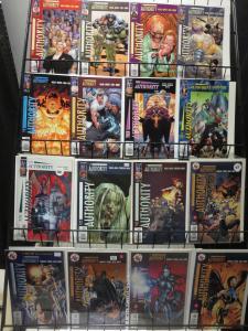 DC COMICS Authority Lot of 50 various vols Millar Morrison Quietly Adams F-VF/+