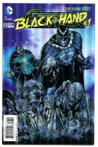 Green Lantern-#23.3-Black Hand-#1-3-D Variant-New 52-2nd Print-NM