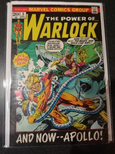 ​The Power of Warlock #3 Gil Kane F+