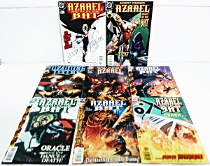 AZRAEL Comic Lot of (10) ***FREE SHIPPING!***
