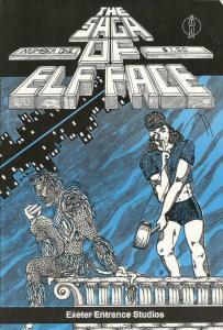 Saga of Elf Face #1 VF; Exter Entrance   save on shipping - details inside