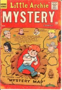 LITTLE ARCHIE MYSTERY (1963)2 VG-F Oct. 1963 COMICS BOOK