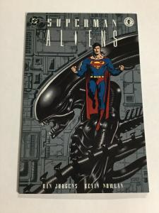 Superman Aliens Nm Near Mint DC Comics Dark Horse Comics