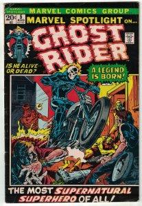 Marvel Spotlight (Vol. 1) #5 VG; Marvel | 1st app of Ghost Rider (Johnny Blaze)