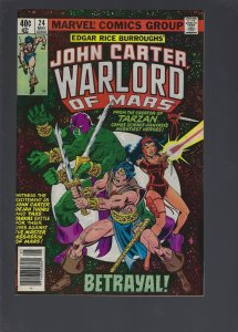 John Carter Warlord of Mars #24 (1979)
