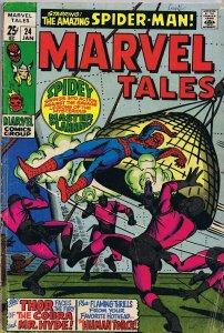 Marvel Tales #24 ORIGINAL Vintage 1969 Spider-Man Thor Human Torch